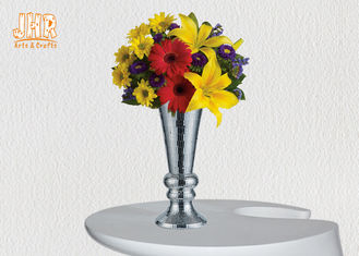 Trumpet Centerpiece Table Vases Homewares Decorative Items Mosaic Glass Vases Fiberglass Vases